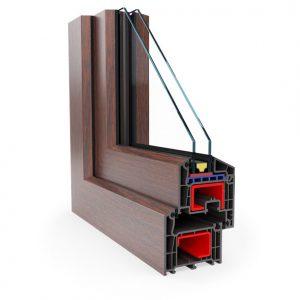 Brügmann  73 PVC / Plastikāta logi