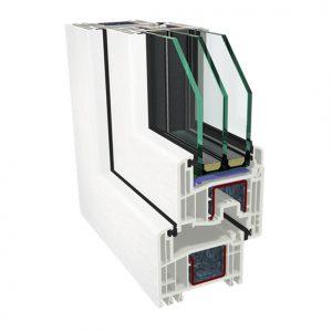 GEALAN S 8000 IQ PVC / Plastikāta logi