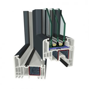 GEALAN S 9000 IQ PVC / Plastikāta logi
